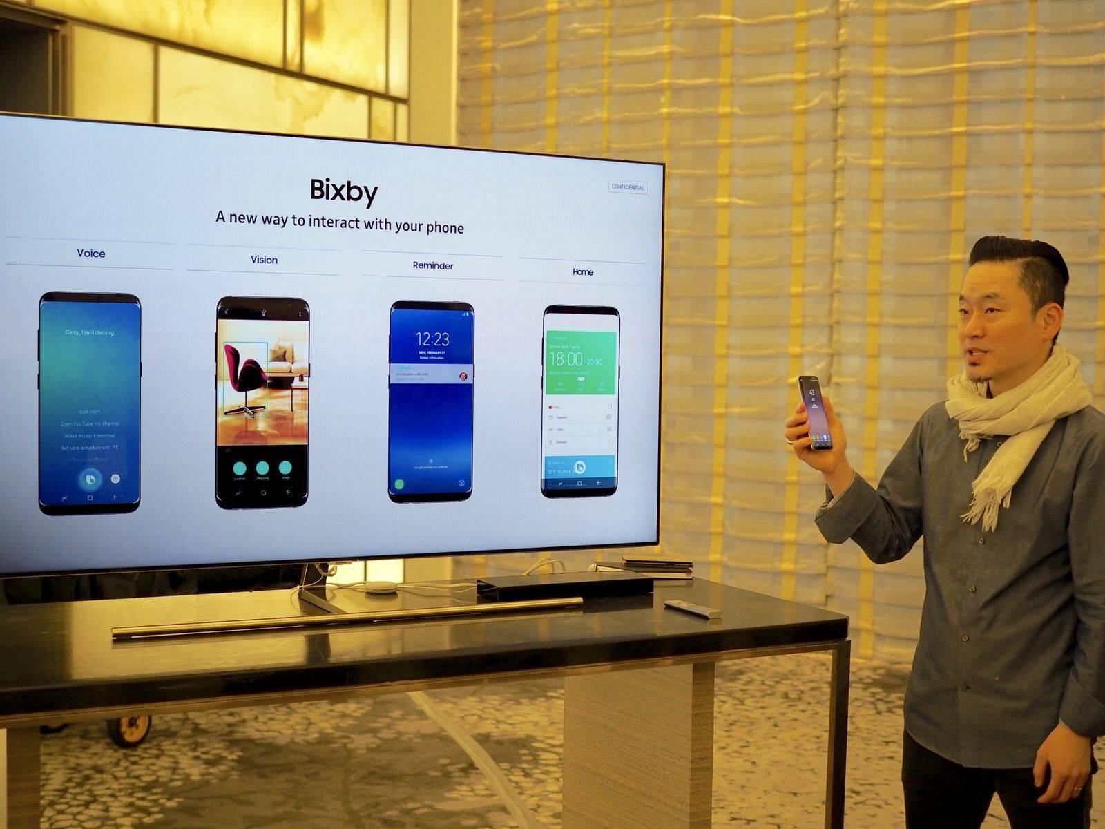 三星 Galaxy S8 / S8+ 上手:除了第一个曲面「全面屏」,还有让你「中毒」的手感 | 极客公园