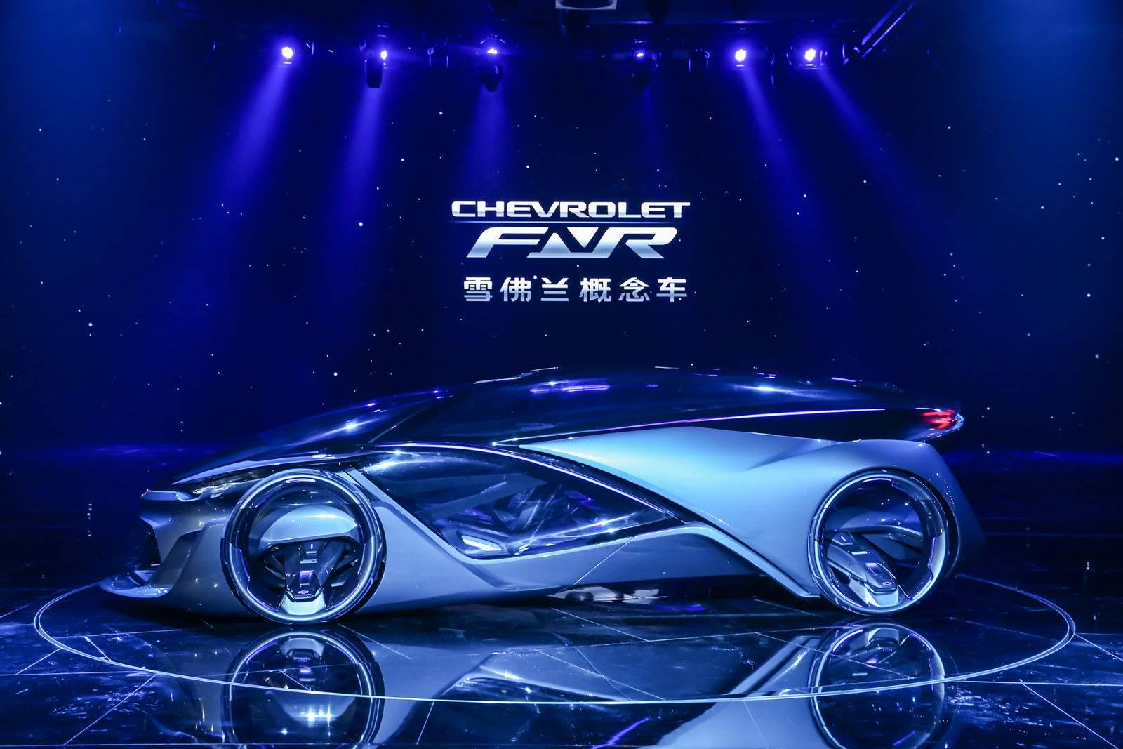 """由泛亚中心主导设计的雪佛兰概念车CHEVROLET-FNR在2015_上海通用汽车之夜""""全球首发.jpg"""
