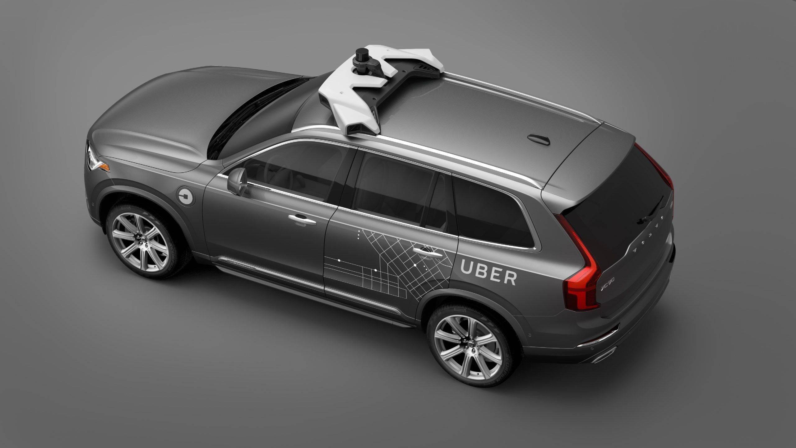 与全球领先的共享出行公司优步(Uber)达成合作,标志着沃尔沃已经登上自动驾驶技术变革的中心舞台.jpg